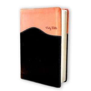Holy Bible NIV Zondervan, Brown & Pink Two-Tone